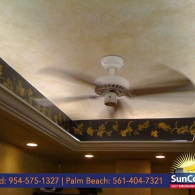 Recessed Lighting and Fan
